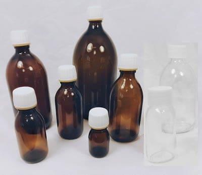 Alpha Sirop Bottles