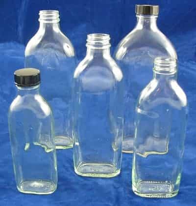 Sloping Shoulder Bottles
